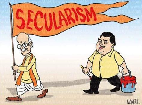 MANJUL_CARTOON_300912pol_Advani_Gadkari_BJP_Secularism